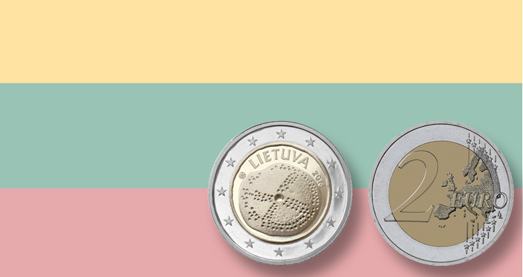 Lithuania celebrates Baltic culture on circulating €2 coin