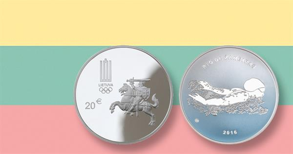 2016-lithuania-proof-silver-20-euro-olympic-coin-and-flag