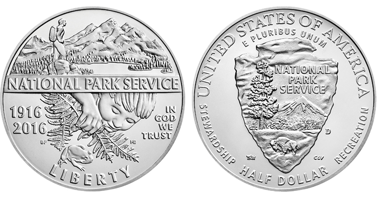 2016 National Park Service Centennial Clad Uncirculated Merged