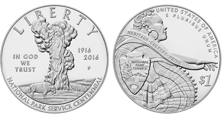 2016 National park Service Centennial Silver Proof Merged
