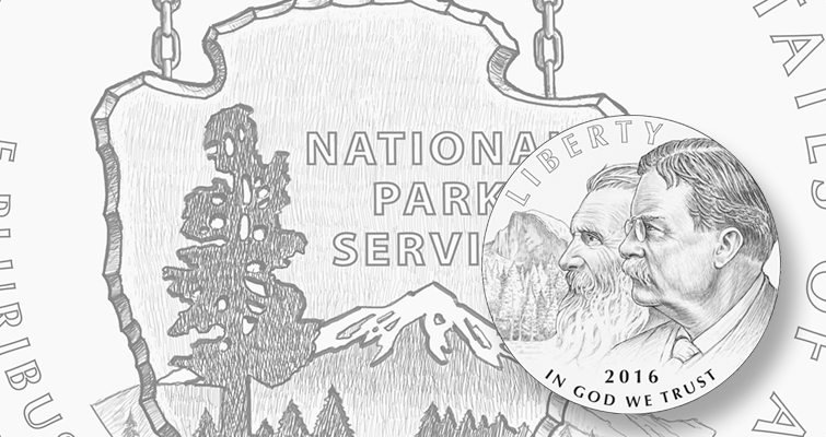 2016 National Park Service Centennial commem designs unveiled
