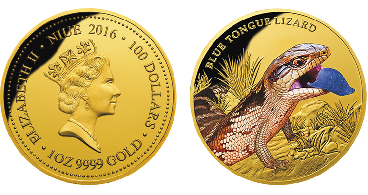 Downies continues Remarkable Reptiles coin series in gold