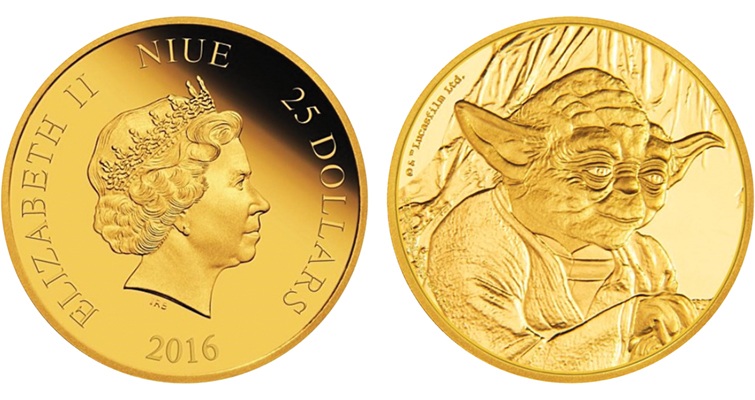 Star Wars Sage Yoda Appears On New Coins Coin World