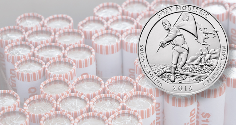 Crowd turns out for sunny ceremonial launch of Fort Moultrie quarter dollar Nov. 17