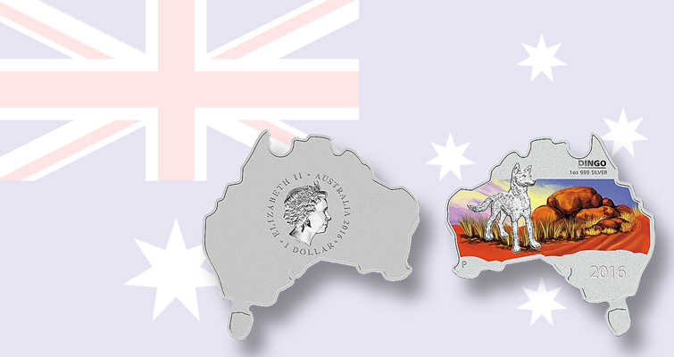 Australia Map Looks Like A Dog.What Animal Is Featured On Perth Mint S Last Map Shaped Coin