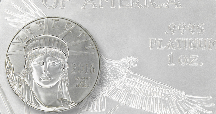 2016 platinum American Eagle Bullion lead