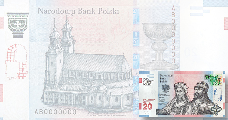 Poland releasing anniversary note to mark historic baptism of ruler