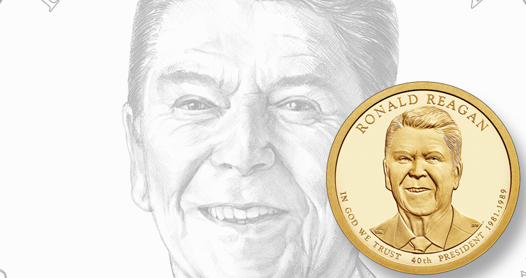 Ronald Reagan dollar, Nancy Reagan First Spouse designs receive official unveiling