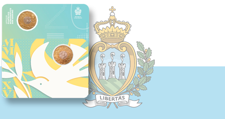 San Marino to issue its first ringed-bimetallic €5 coin, in medallic sculpture style