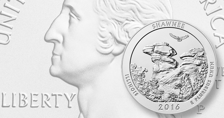 Mint launches sales of 2016-P Shawnee National Forest 5-ounce coin
