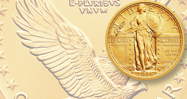 Lifting ordering limits on gold quarter dollars significantly boosts sales