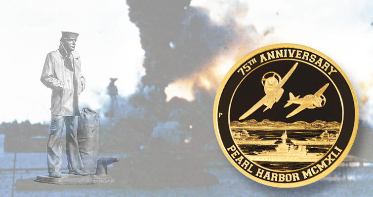 Tuvalu coins from Perth Mint raise money for Pearl Harbor statue
