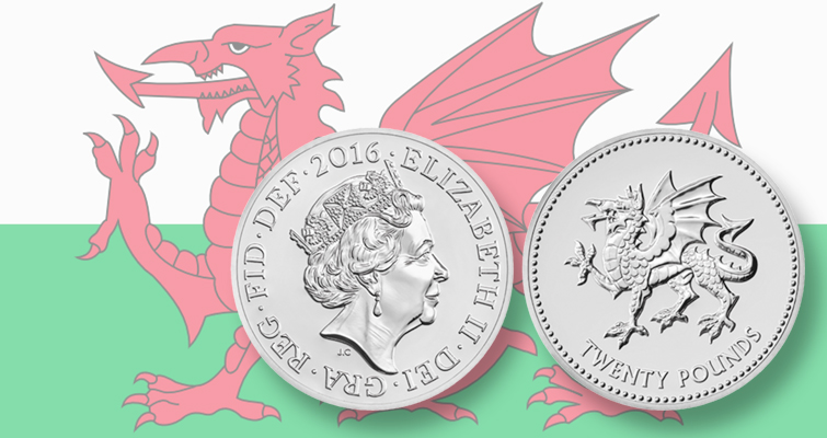 Royal Mint resurrects Welsh Dragon in silver on new denomination