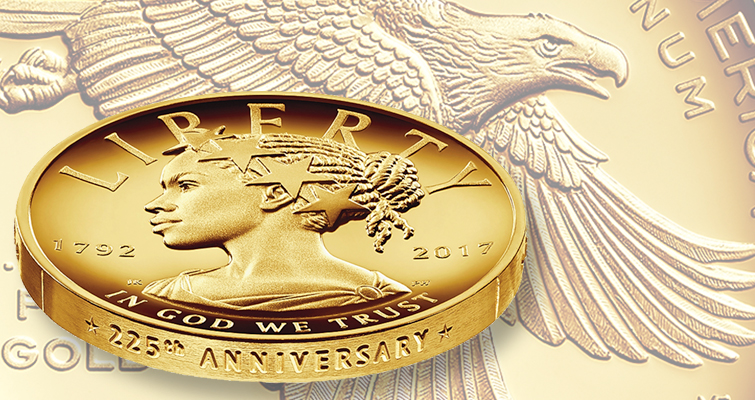 The 2017 American Liberty gold coin release date is getting closer
