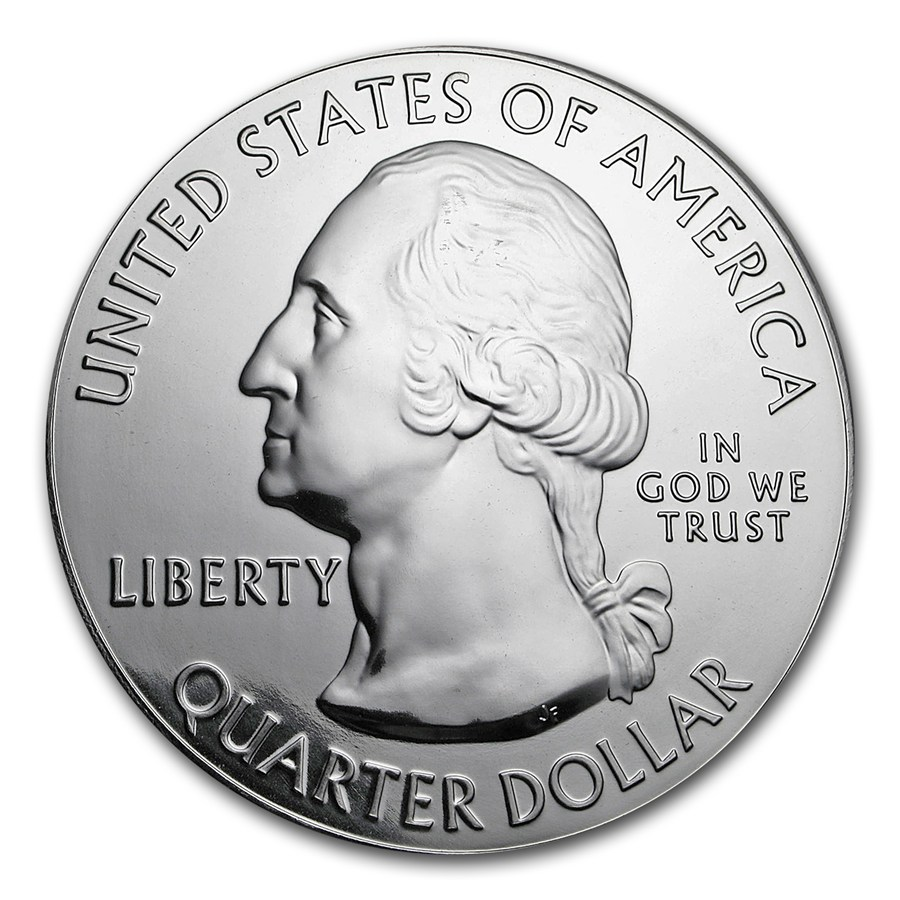 Secondary Market Premiums For The America Beautiful 5 Ounce Silver Bullion Coins Can Be