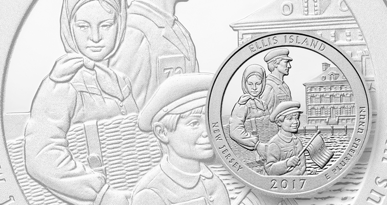 It's a new year and here are the 2017 America the Beautiful quarters in Proof