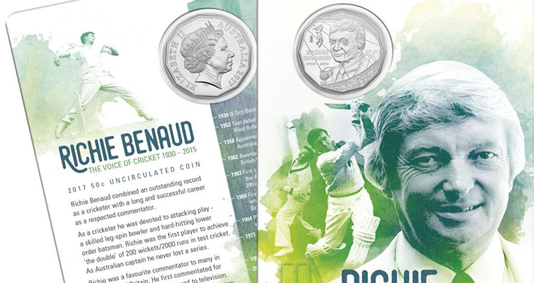 Australia commemorates 'voice of cricket' on 50-cent coin
