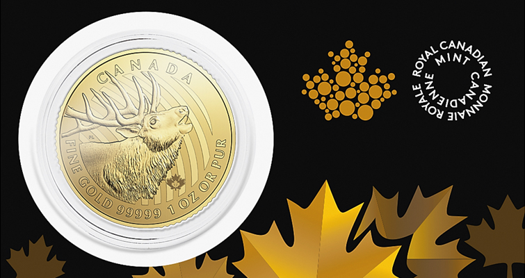 The Royal Canadian Mint issues two new bullion coins in ongoing series