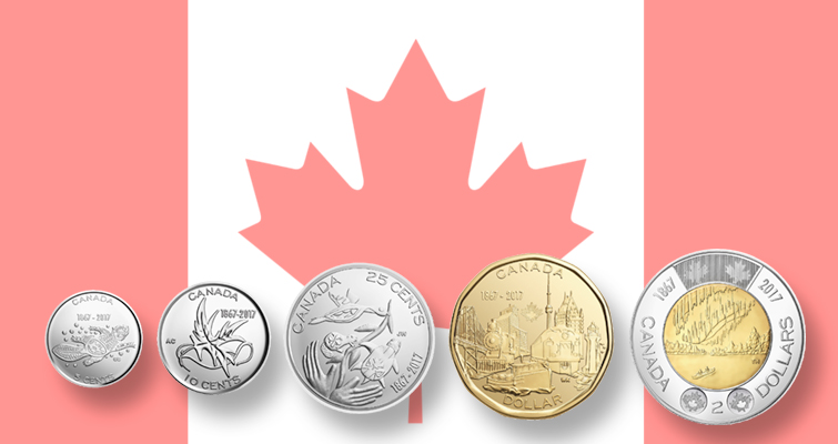 Royal Canadian Mint unveils 150th anniversary circulating coins