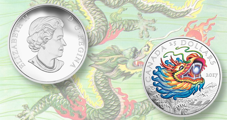 Tradition meets technology on Dragon Boat Festival $25 coin from Canada