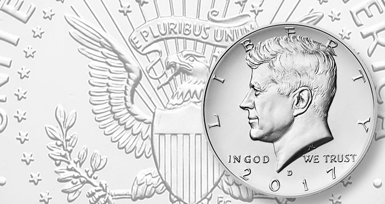 Mint Rolls 2012 P+D Kennedy Half Dollar Set ~ P+D from Original U.S Two Sets