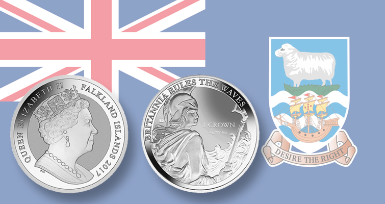 New 1-ounce silver bullion Britannia coin from Pobjoy Mint