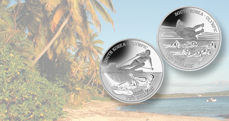 Fiji issues silver coins for 2018 Winter Olympics in South Korea