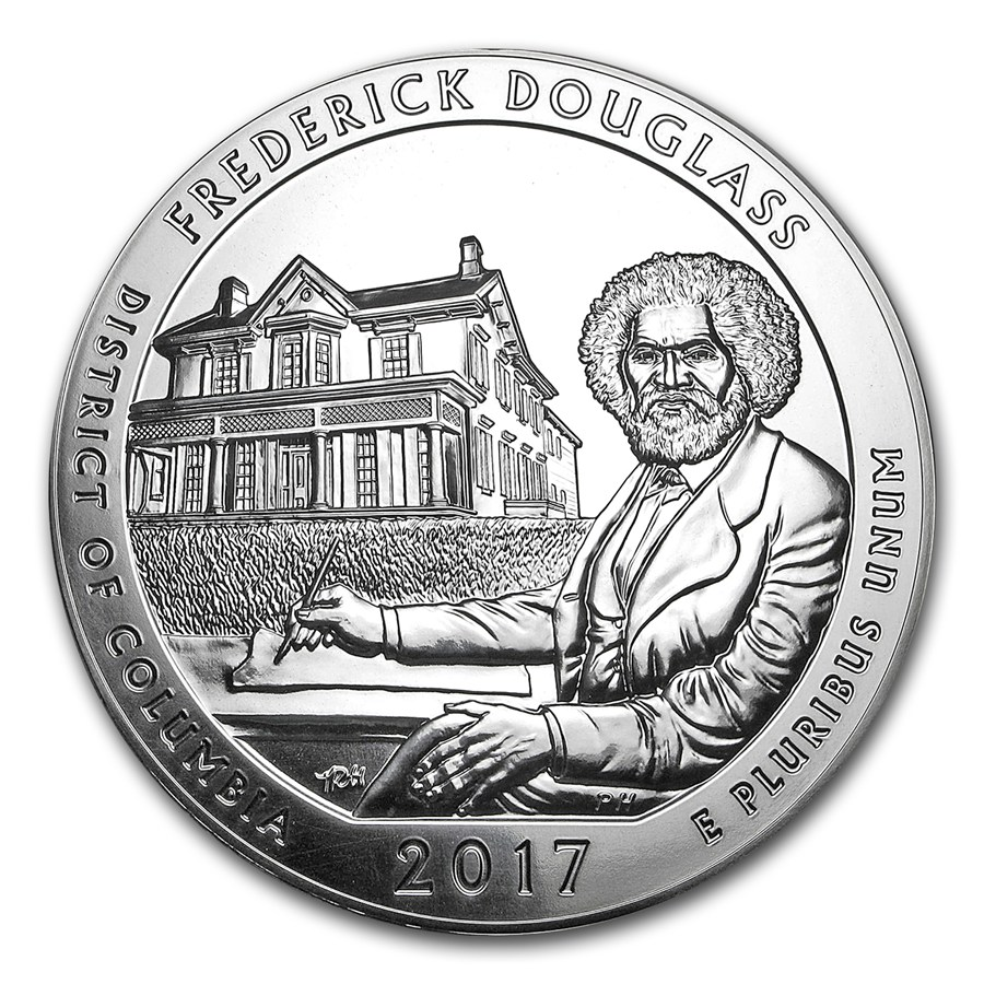 2017-frederick-douglass-5-ounce-silver-bullion-reverse-side