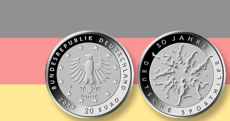 Germany announces plans for 2017 national sports organization coin
