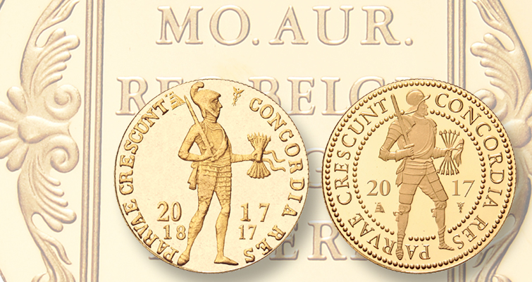 Netherlands marks ducat coin anniversary with one-year type