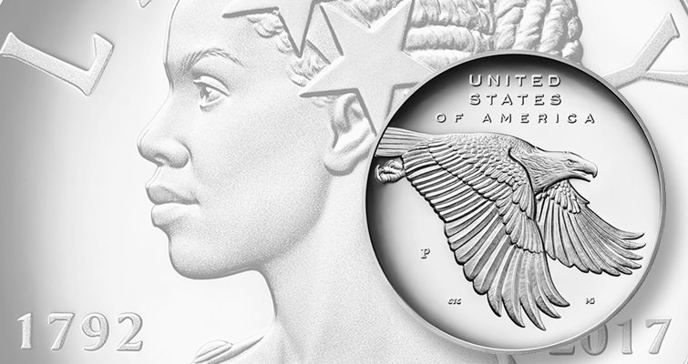 The Proof 2017-P American Liberty silver medal is priced at $59.95 and has no limit on mintage, packaging options or household purchases.
