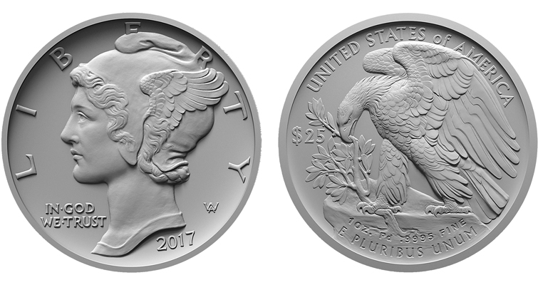 2017 American Eagle platinum bullion coin