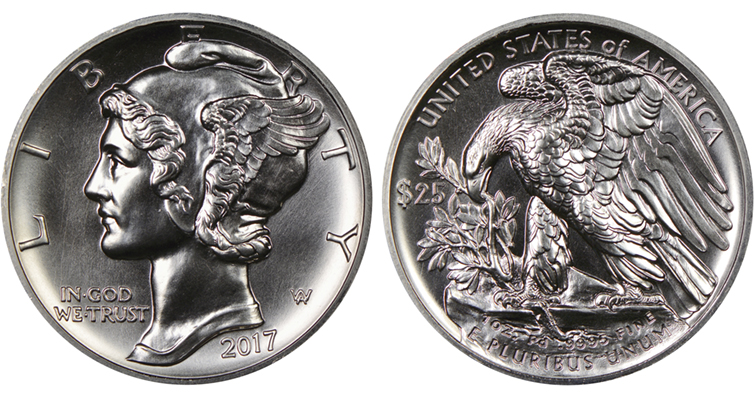 Palladium American Eagles Exhibit Quality Coin World