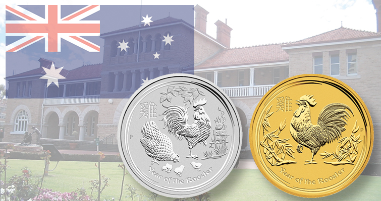 As the rooster crows: Perth Mint unveils 2017 Lunar calendar coins