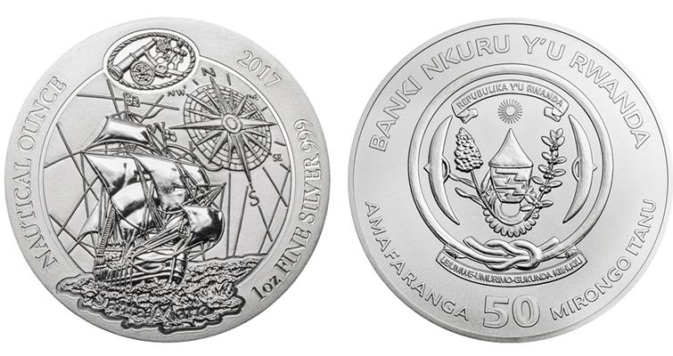 Landlocked Rwanda Issues Coin With Columbus Ship Coin World