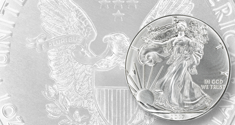 2017 silver American Eagle bullion lead