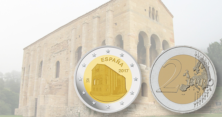 Spain celebrates UNESCO World Heritage Site on €2 coin