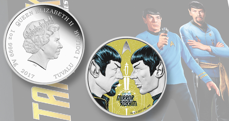 Royal Canadian Mint and Perth Mint celebrate Star Trek on silver coins