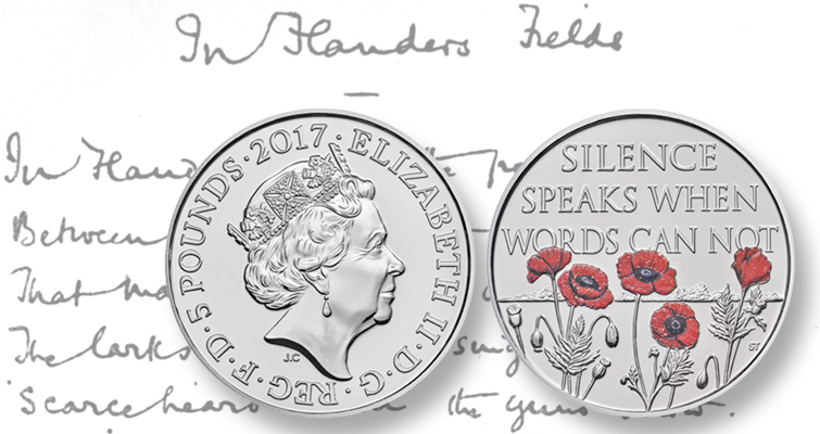 Royal Mint launches first official UK Remembrance coins