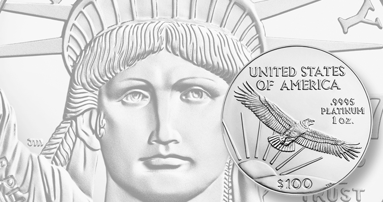 Mint celebrates original reverse for Proof 2017 platinum coin