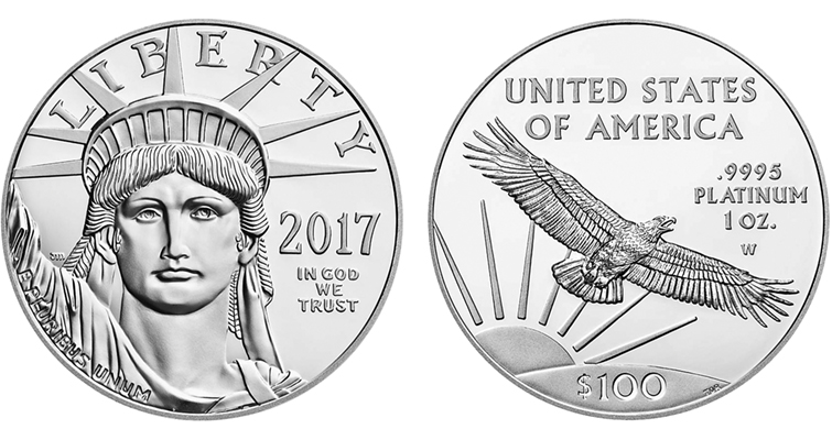 2017 W Proof Platinum Eagle Merged