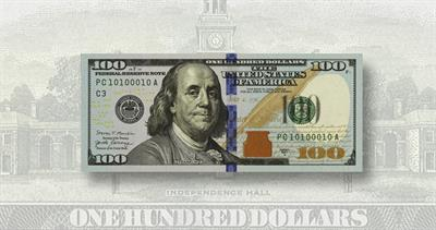 100-dollar note