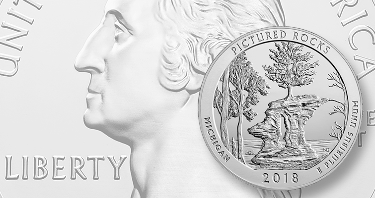First 2018 5-ounce silver bullion quarter dollar on schedule