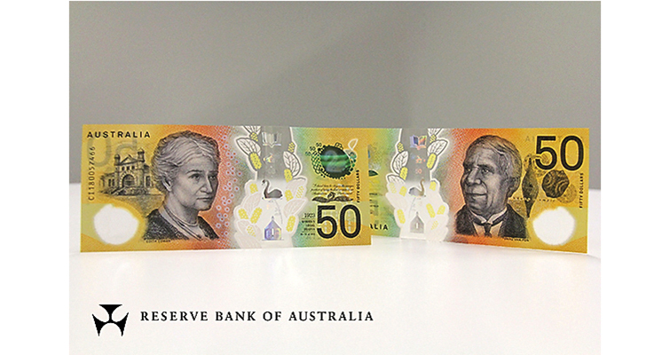 Reserve Bank of Australia $50 note