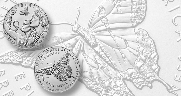 Monday Morning Brief: First look at two more Breast Cancer Awareness coins
