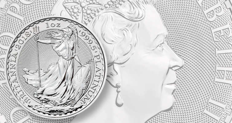 Royal Mint debuts Britannia 1-ounce platinum coin, expanding its product line