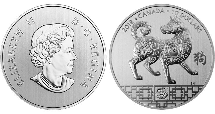 2018-canada-10-dollar-silver-year-of-dog-coin