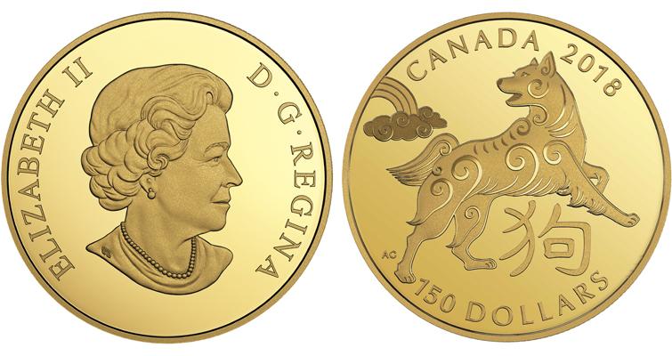 2018-canada-150-dollar-gold-year-of-dog-coin