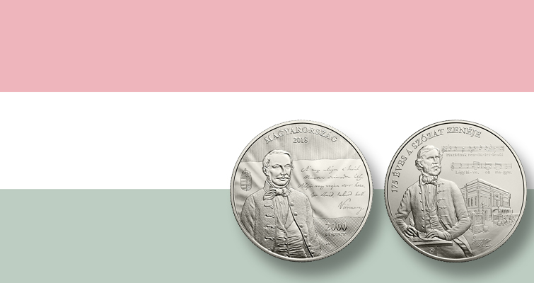 Hungary honors 'second national anthem' with coins