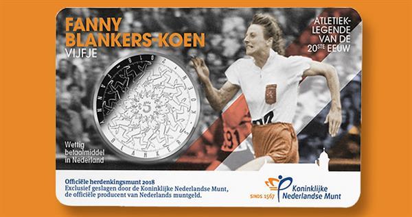 2018-netherlands-5-euro-fanny-blankers-koen-unc-card-lead